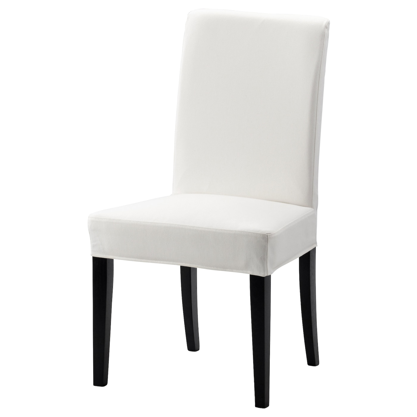 white fabric dining chairs hon office chair controls henriksdal brown black gräsbo ikea