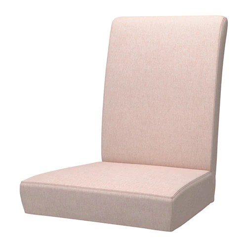 chair covers for ikea henriksdal bunjo target cover gunnared pale pink