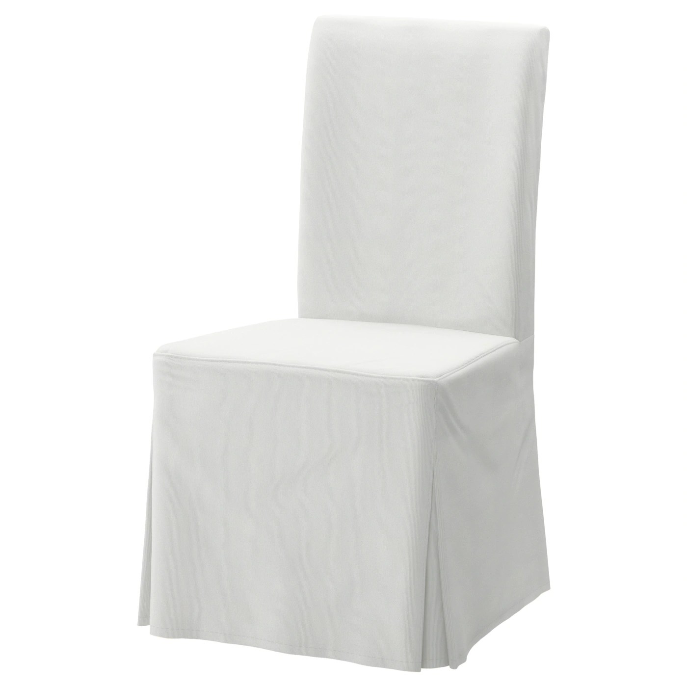 ebay uk christmas chair covers folding office dining ikea henriksdal cover long