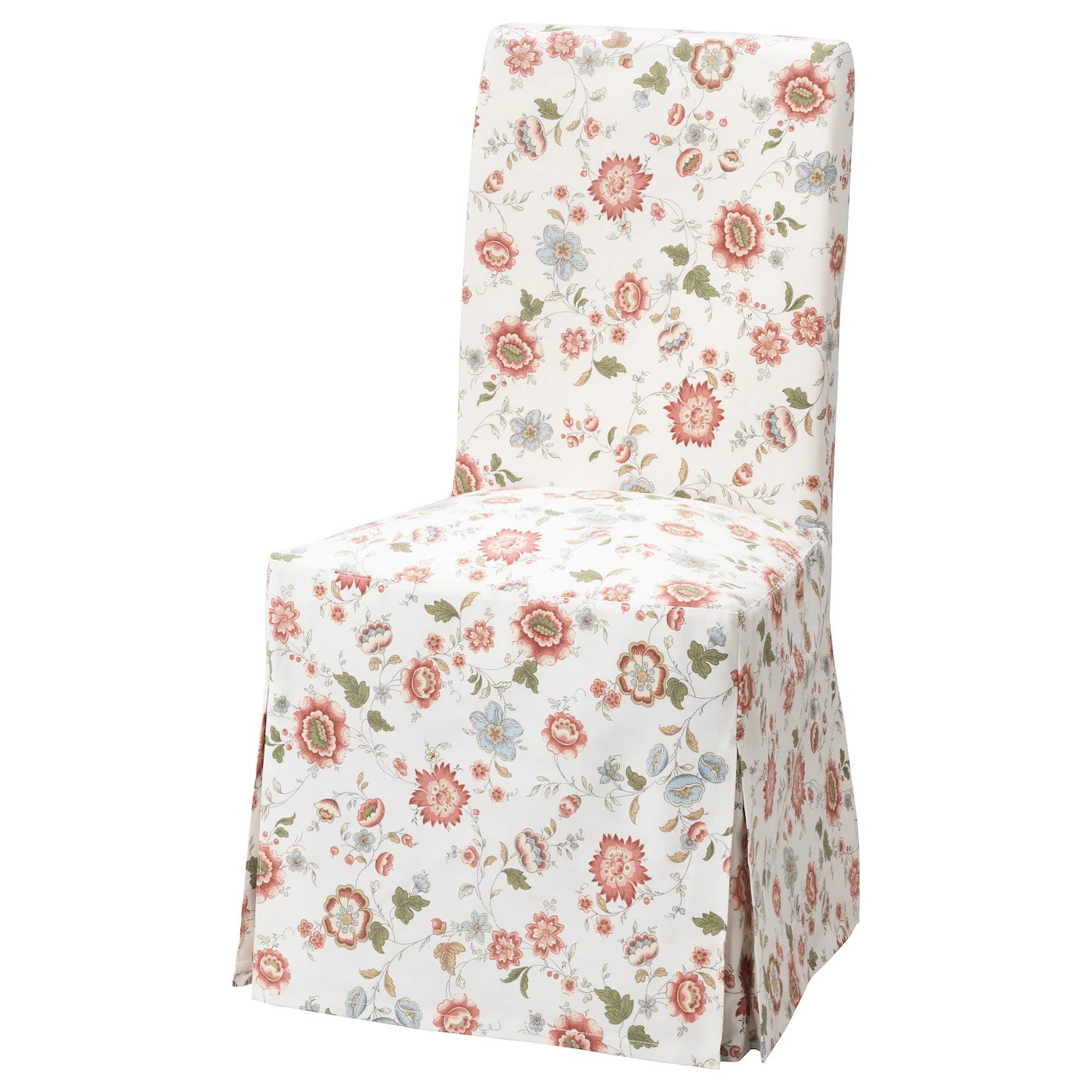 loose chair covers ikea hanging vermont dining henriksdal cover long