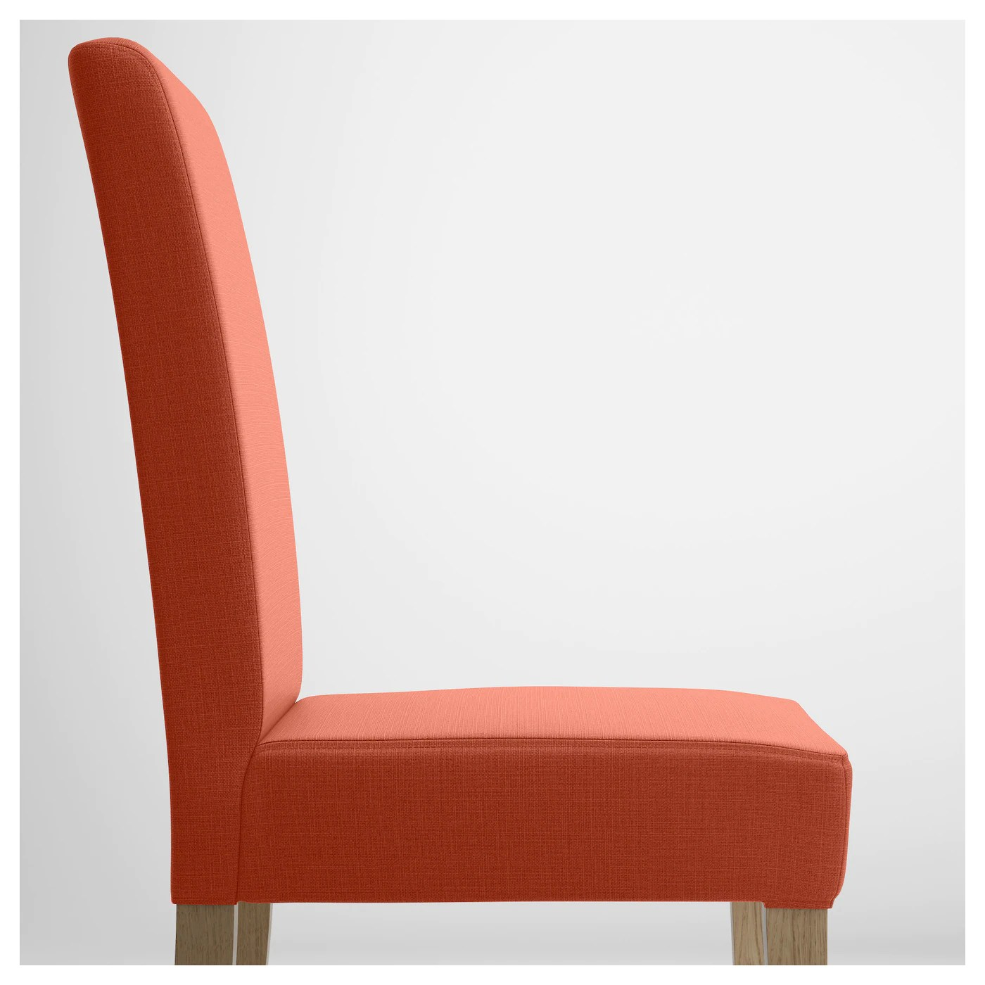 ikea orange chair covers pride lift chairs henriksdal oak skiftebo dark