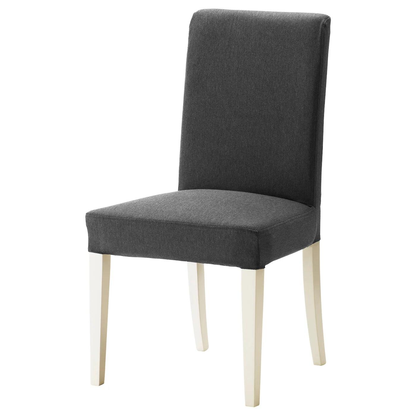 white chair ikea computer game henriksdal dansbo dark grey