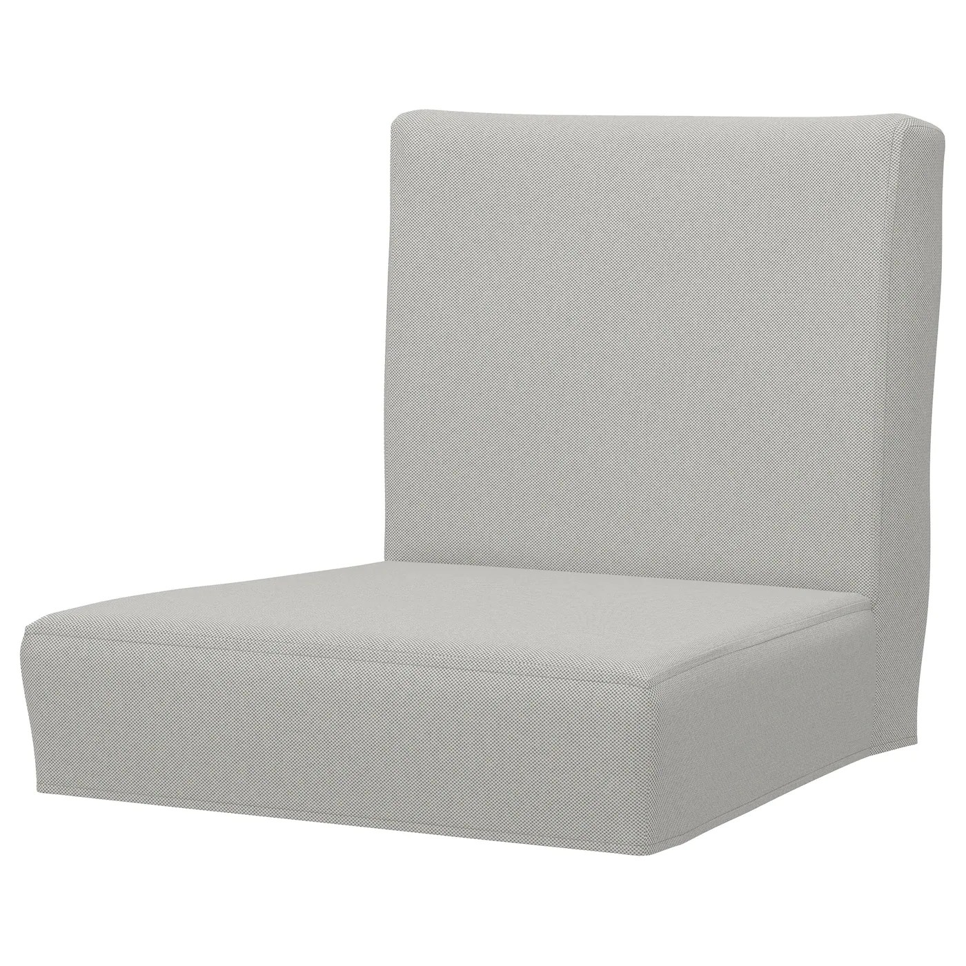 ikea chair covers henriksdal ebay overstuffed chairs with ottomans cover for bar stool backrest ramna light