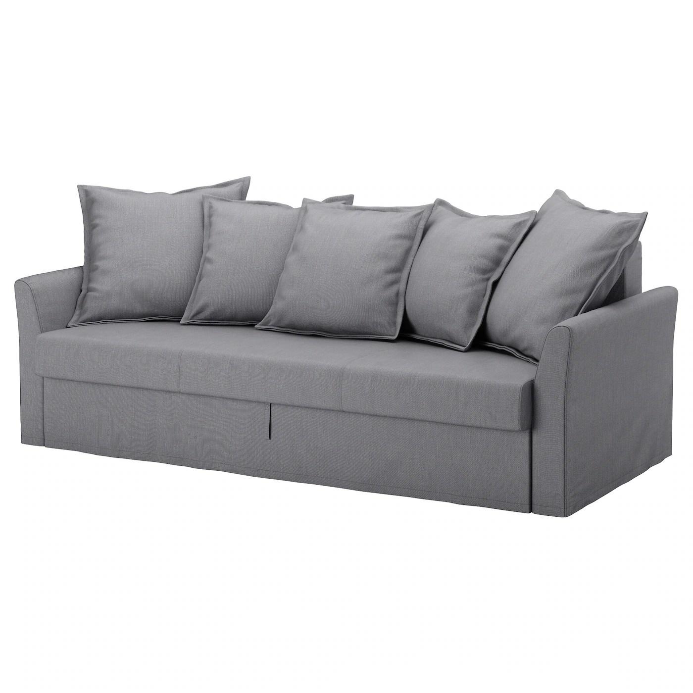 medium sofa bed sofaworks dundee opening times holmsund three seat nordvalla grey ikea