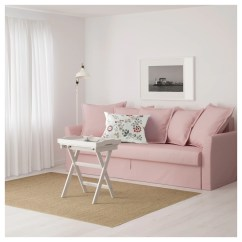 Light Pink Sofa Bed Burlington Holmsund Three Seat Ransta Ikea