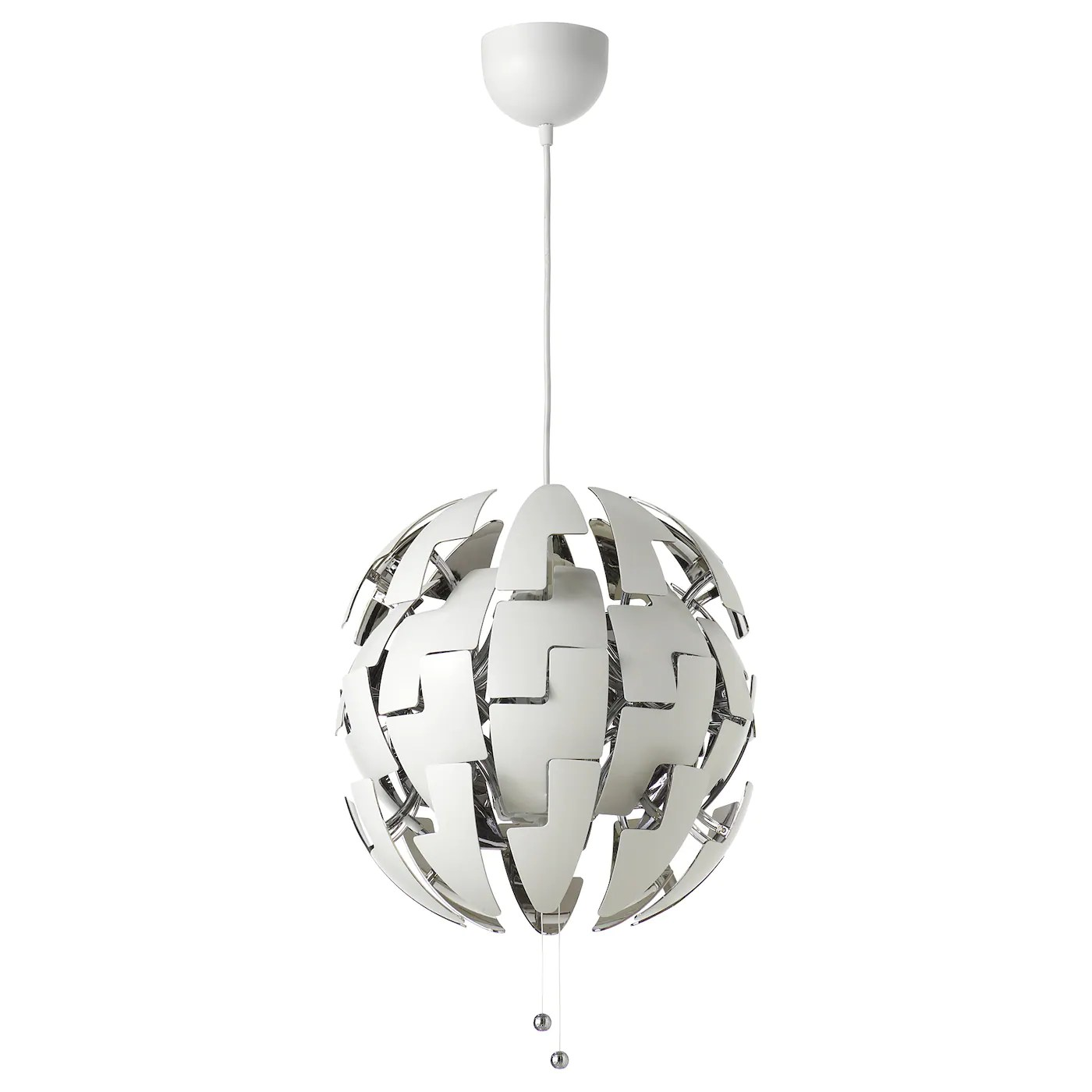 Ikea PS 2014 Pendant Lamp White Silver