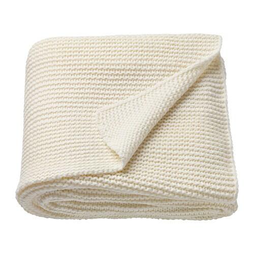 ikea kitchen rugs cabinets in stock ingabritta throw off-white 130 x 170 cm -