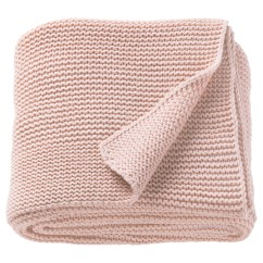 Knitted Revolving Chair Vintage Cane Ådum Rug High Pile Light Brown Pink 170 X 240 Cm Ikea