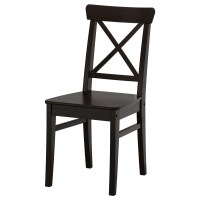 INGOLF Chair Brown-black - IKEA