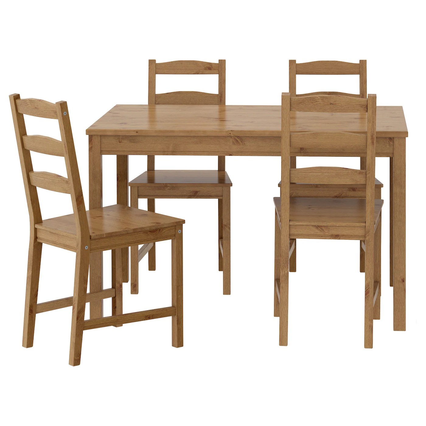 set of chairs rent chair covers edmonton dining table sets room ikea jokkmokk and 4 easy to bring home since the whole is