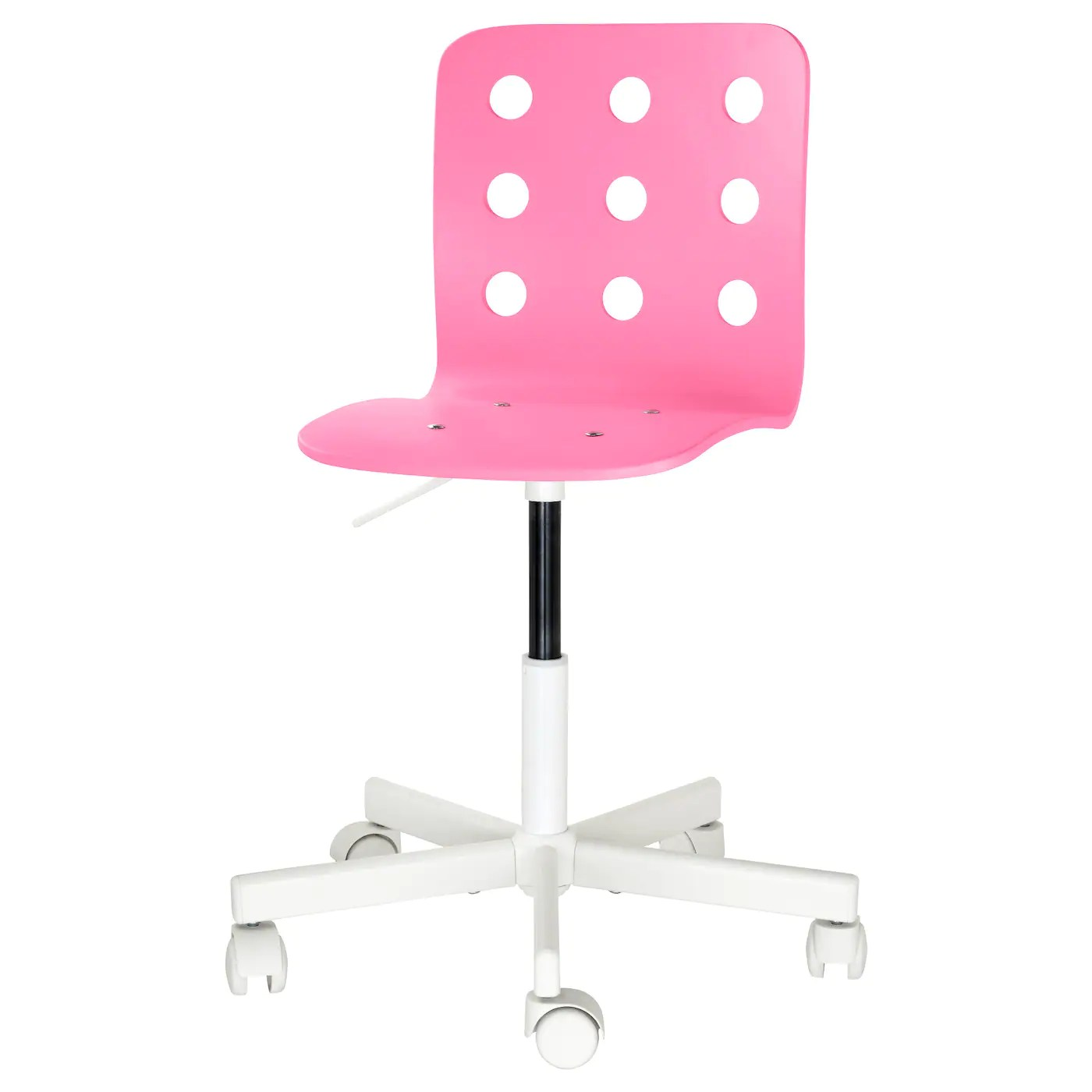 pink kids chair ikea corner jules children 39s desk white