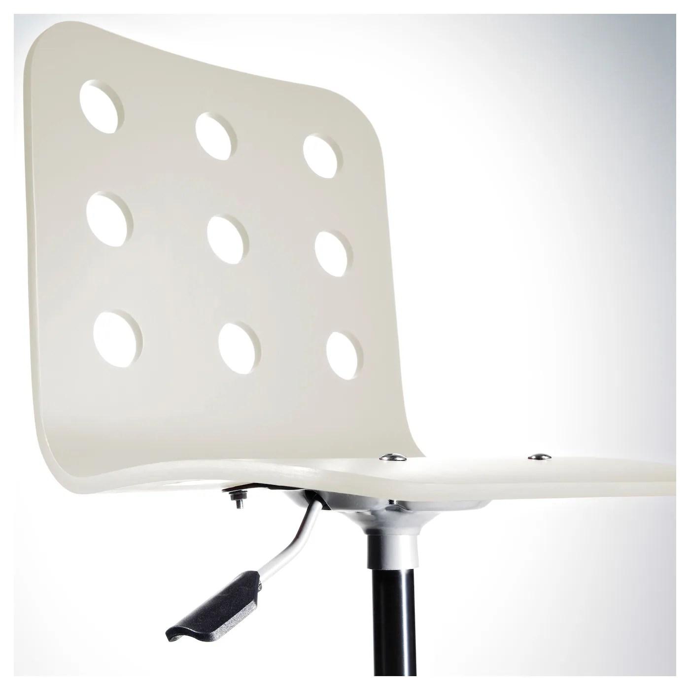 ikea jules chair white covers for sale children 39s desk silver colour
