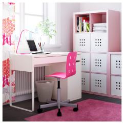 Ikea Jules Chair Best Support For Lower Back Pain Junior Desk Pink Silver Colour