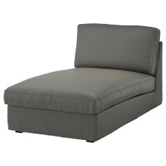 Recliner Chair Covers Green Swivel Not Staying Up Kivik Cover For Chaise Longue Borred Grey-green - Ikea
