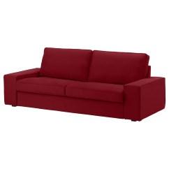Ikea Red Sofa Covers Selig Playpen Kivik Cover Three Seat Ramna