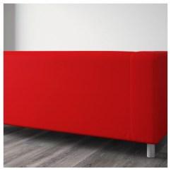 Ikea Klippan Sofa Cover Red Italian Modern Beds Two Seat Flackarp Orange