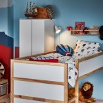 Kura White Pine Reversible Bed 90x200 Cm Ikea