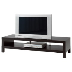 Tv Chair Ikea Teenage Desk Chairs Lack Bench Black Brown 149x55 Cm