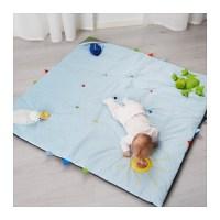 LEKA Play mat Blue 118x118 cm - IKEA