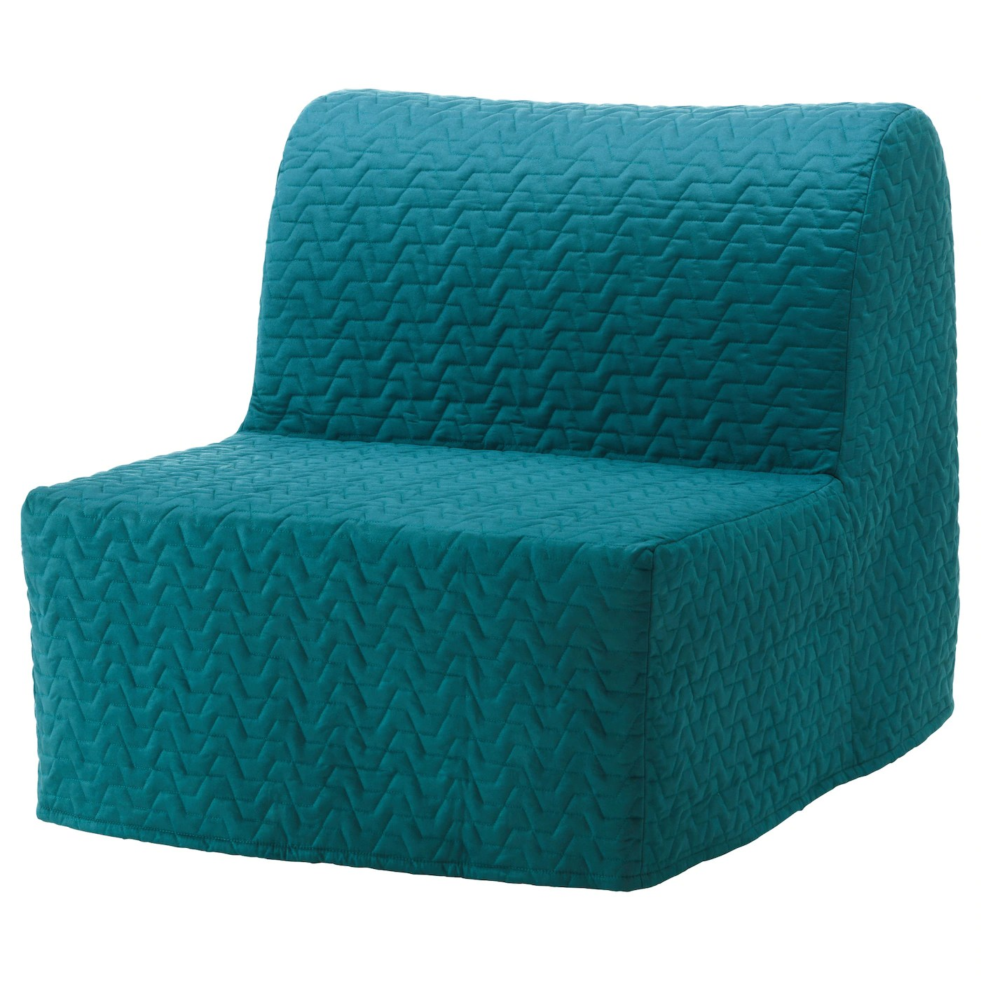 ikea bed chair covers macrame hanging lycksele cover vallarum turquoise