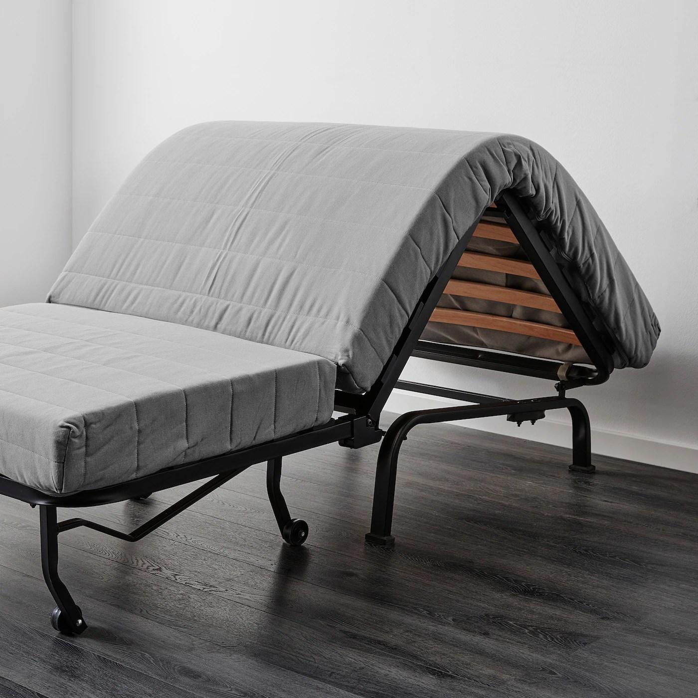 Lycksele Lovas Ransta White Chair Bed Ikea