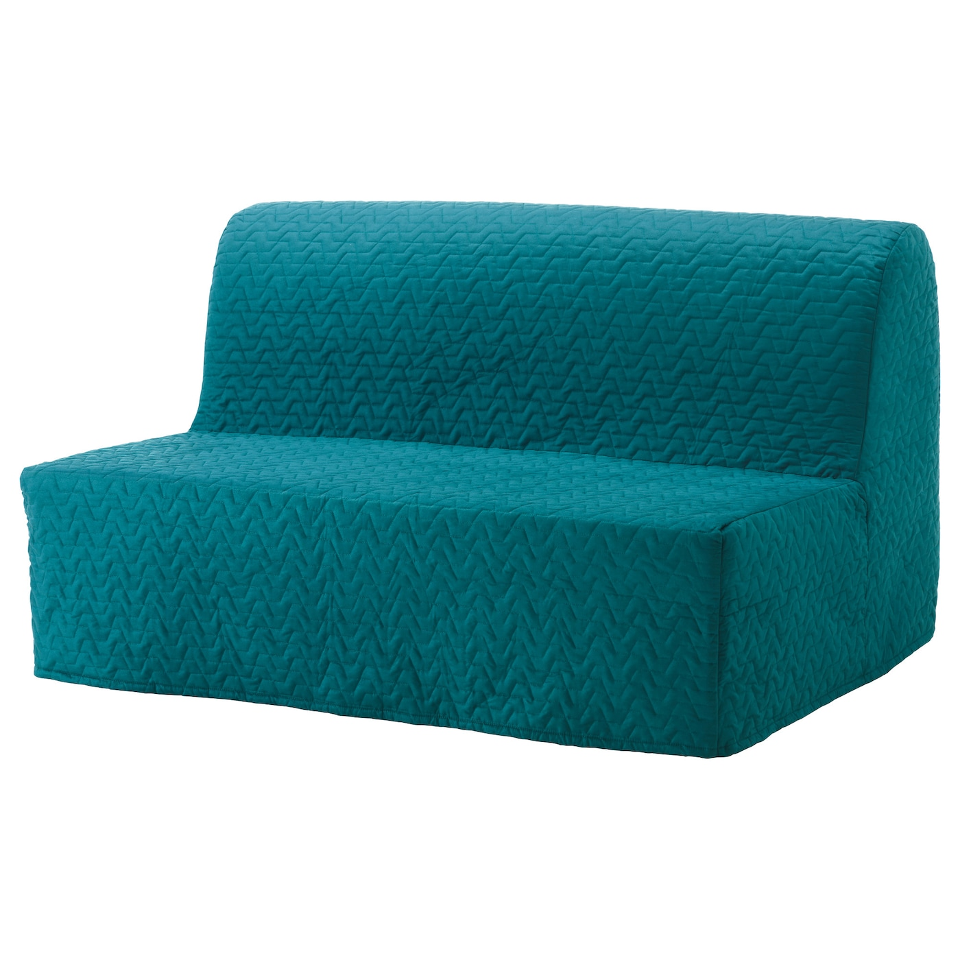 lycksele chair bed chiavari chairs rental price two seat sofa cover vallarum turquoise ikea