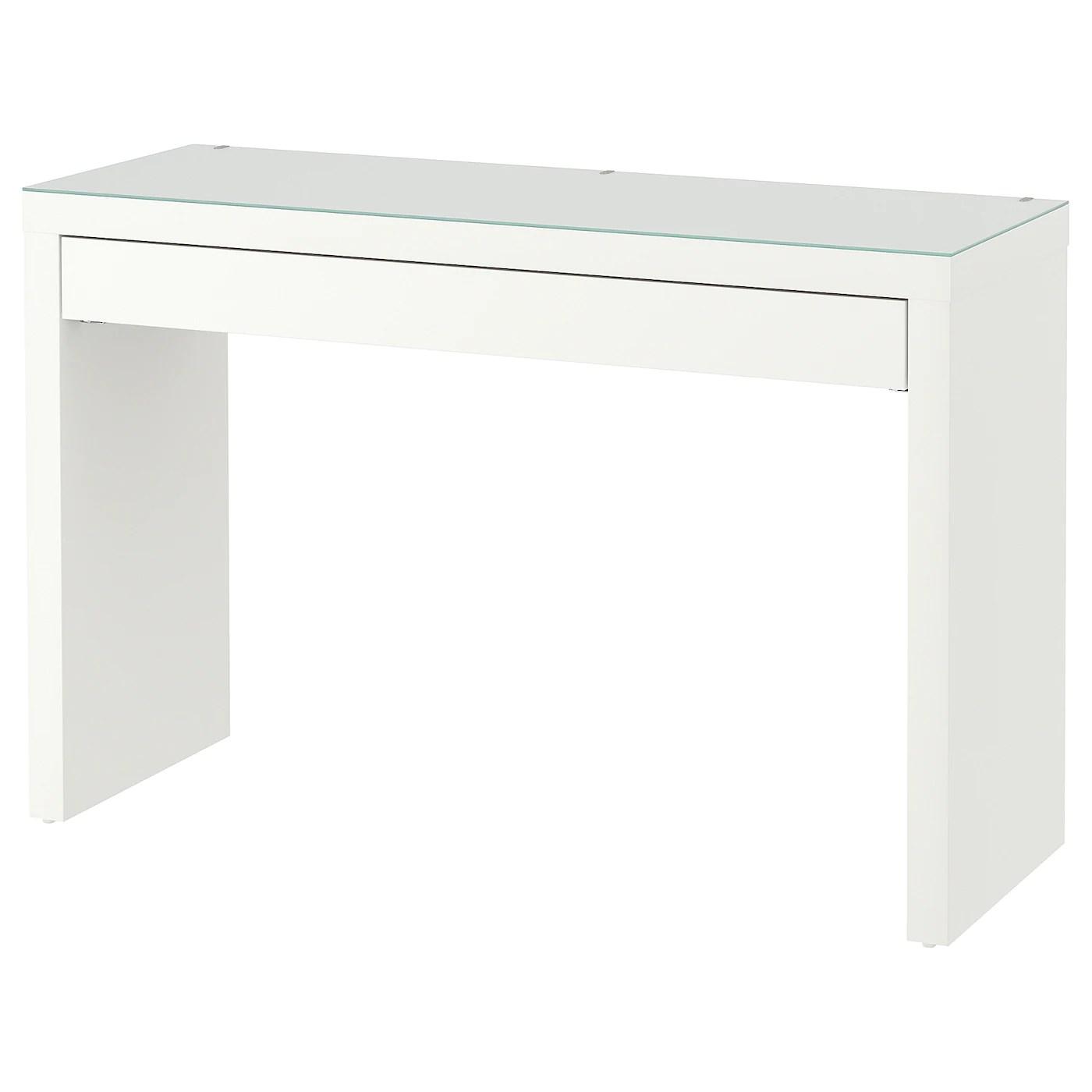 malm dressing table white 120x41 cm