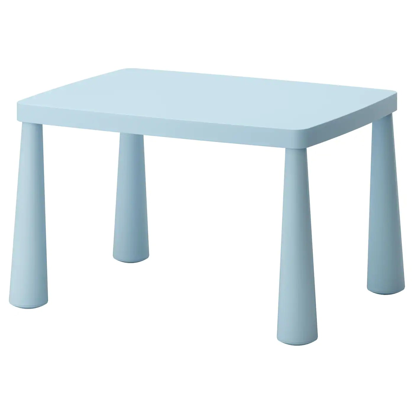 table and chairs for kids bumbo chair accessories mammut children 39s in outdoor light blue 77x55 cm ikea
