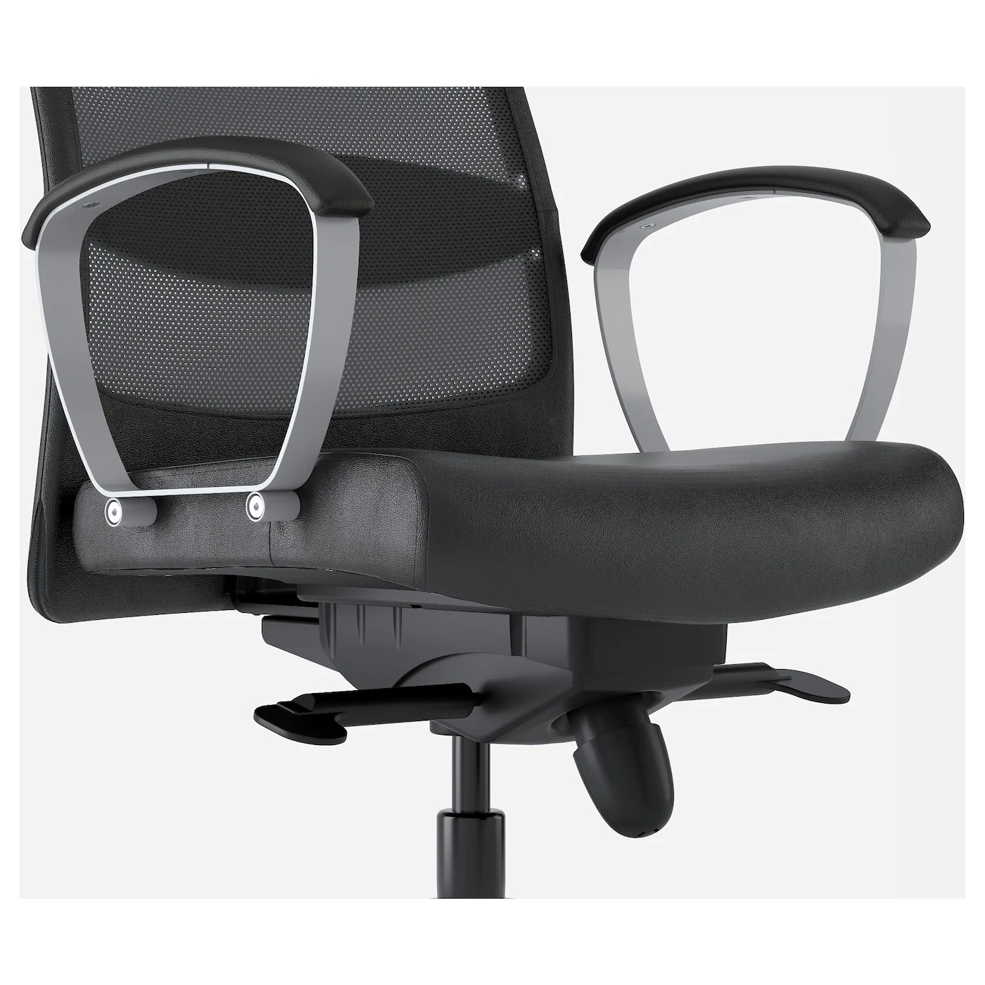 swivel chair jargon yoga ball chairs in the classroom markus glose black ikea
