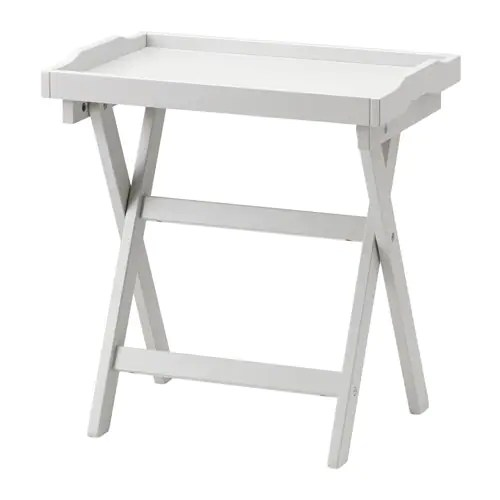 ikea foldable chairs purple living room chair maryd tray table grey 58 x 38 cm -