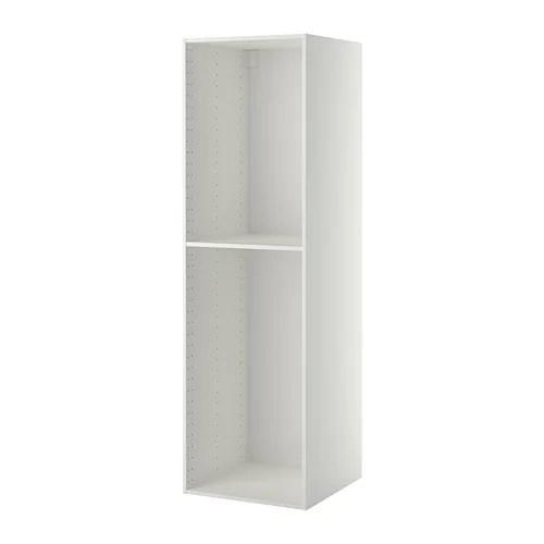 METOD High cabinet frame White 60 x 60 x 200 cm  IKEA