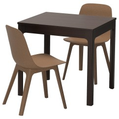 2 Seater Kitchen Table Set 50's And Chairs Small Dining Sets Ikea Odger Ekedalen Can Be Easily Extended By One Person