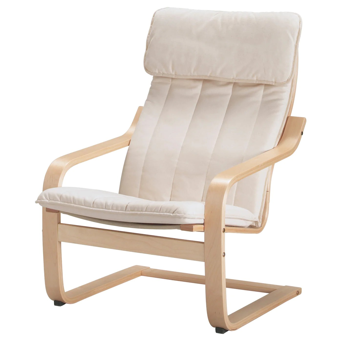 ikea arm chairs deer antler chair poÄng armchair birch veneer ransta natural