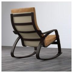 Ikea Rocking Chairs Acorn Chair Lift Parts PoÄng Black Brown Seglora Natural