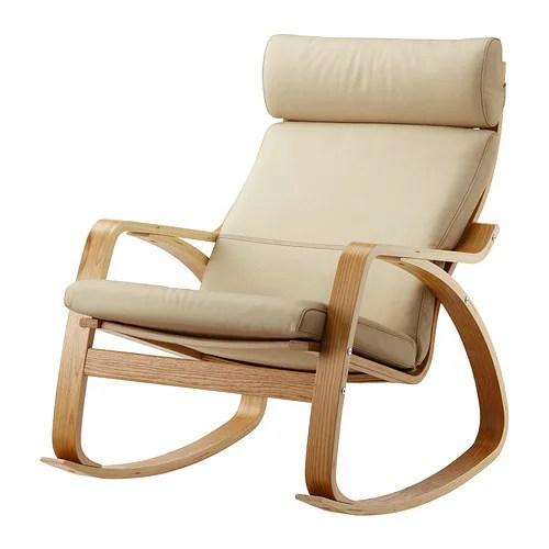 ikea poang rocking chair plastic adirondack chairs cheap poÄng rocking-chair oak veneer/glose eggshell -