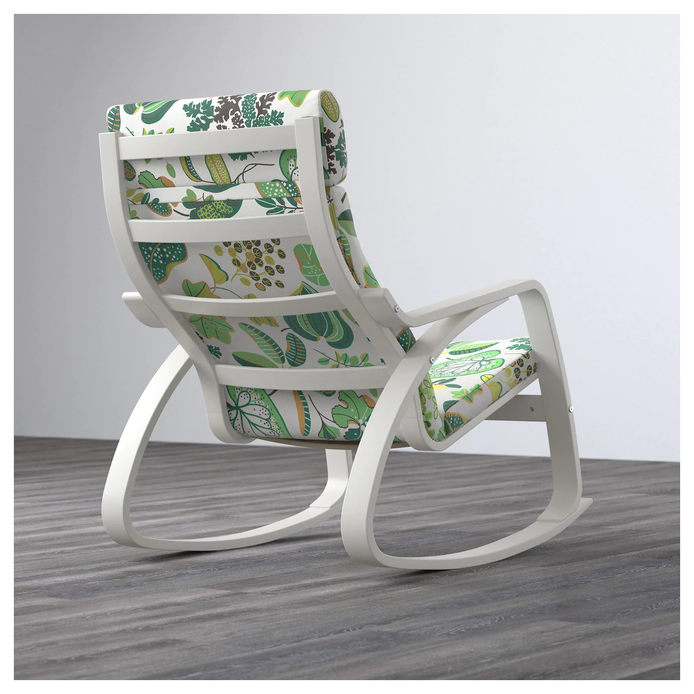 ikea white rocking chair red comfy poÄng simmarp green