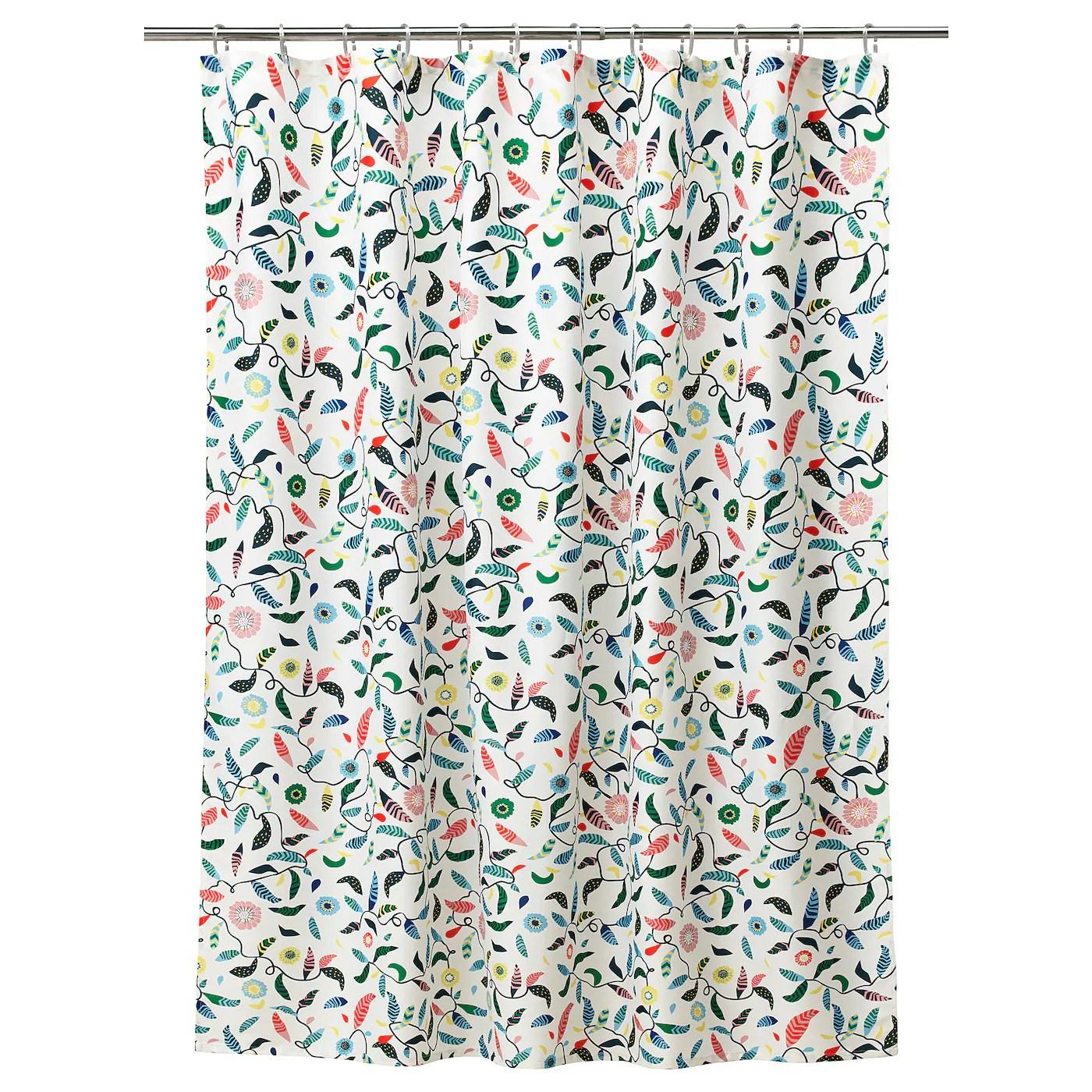 Shower Curtain Sandbredan Multicolour