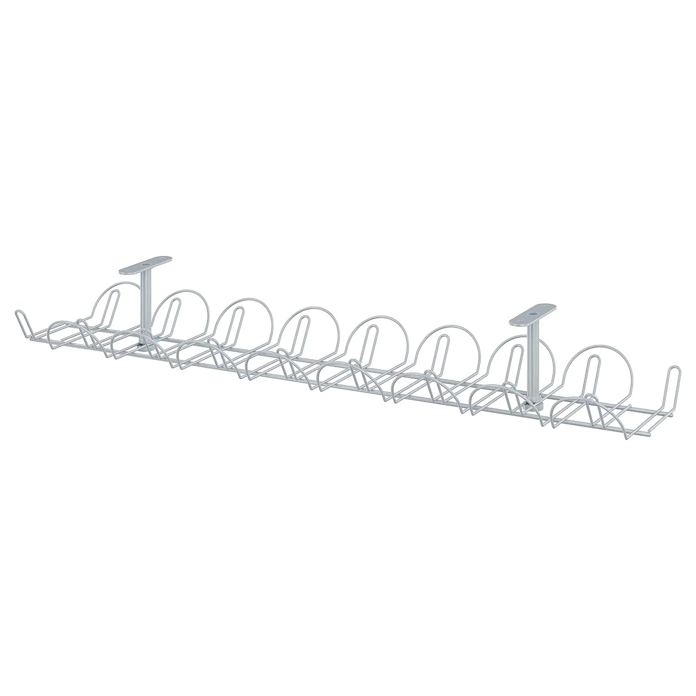 Signum Silver Colour Cable Trunking Horizontal Ikea