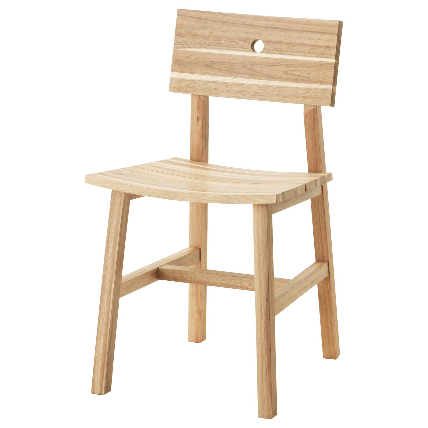 ikea wood chairs drive medical shower chair skogsta acacia