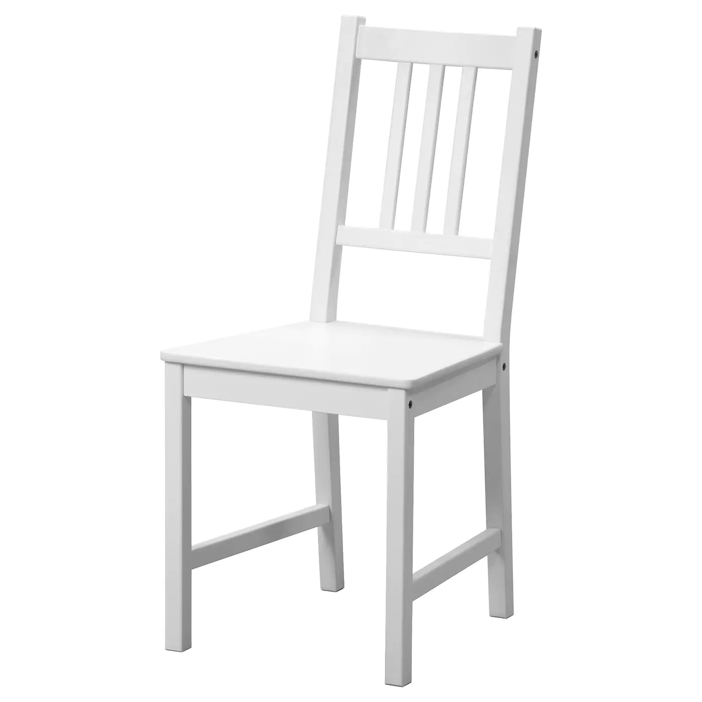 ikea wood chairs counter height dining chair stefan white