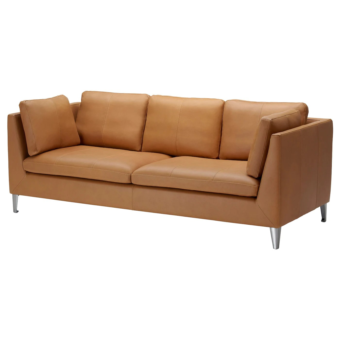 ikea sater sofa uk narrow table leather coated fabric sofas stockholm three seat 25 year guarantee read about the terms in