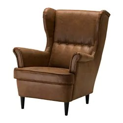 ikea recliner chairs sale black wing chair armchairs strandmon 10 year guarantee read about the terms in brochure
