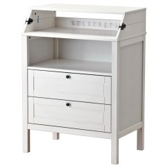 Ikea Kitchen Table With Drawers Catalogs Sundvik Changing Chest Of White