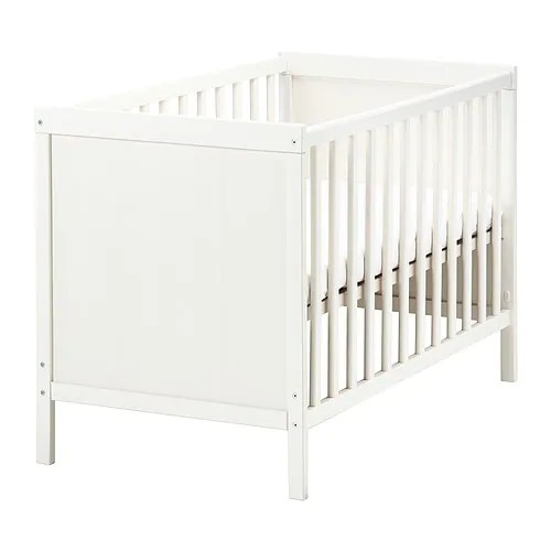 Ikea Sundvik Cot The Base Can Be Placed At Two Diffe Heights