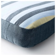 Chair Cushions With Ties Ikea Covers For Hire Pretoria TÅsinge Cushion Outdoor Blue 50x49 Cm