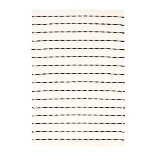 IKEA TÖRSLEV rug, flatwoven Easy to vacuum thanks to its flat surface.