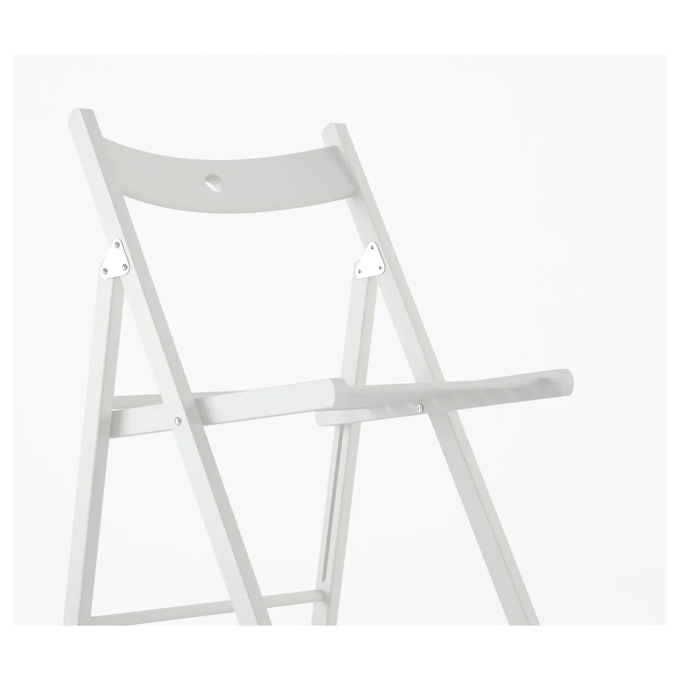 folding chair ikea youtoo ergonomic terje white
