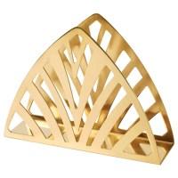TILLSTLLNING Napkin holder Brass-colour - IKEA