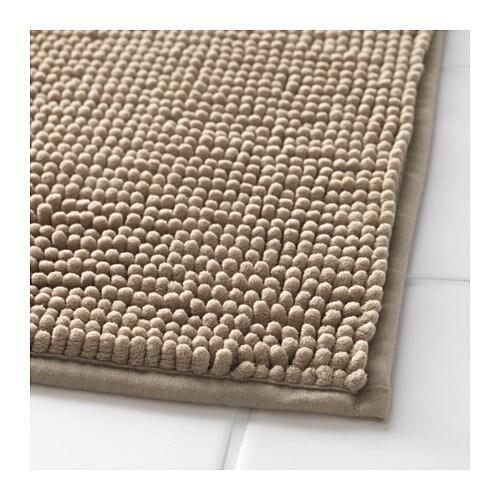 toftbo bath mat beige 60x90 cm - ikea