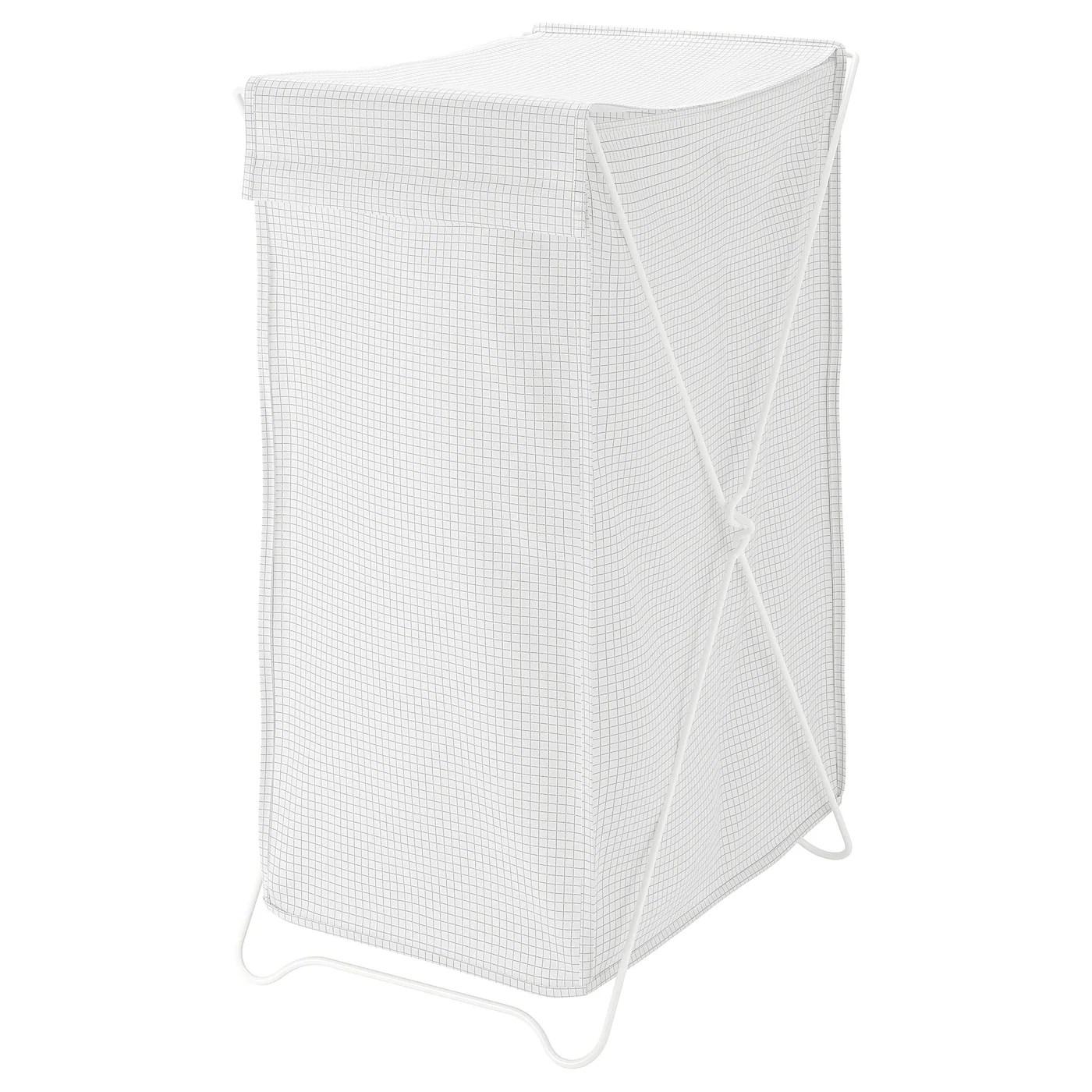 Torkis White Grey Laundry Basket Ikea